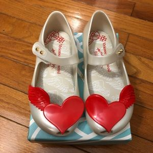 Mini Melissa + VM heart ❤️ shoes toddler